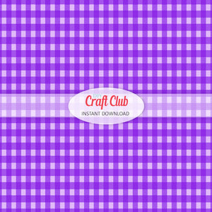 purple gingham paper to print