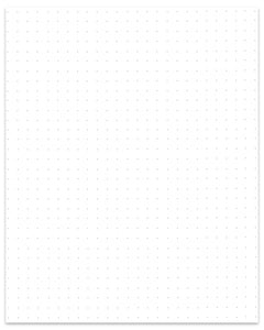 photo about Dotted Paper Printable known as Printable Paper Dotted 4 Dots For every Inch - Do-it-yourself Craft Club