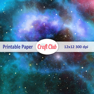 galaxy printable paper