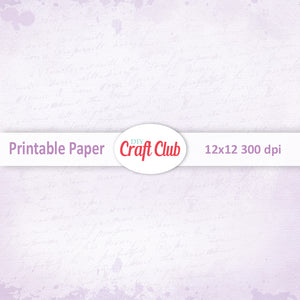printable scrapbooking paper pastel lined purple