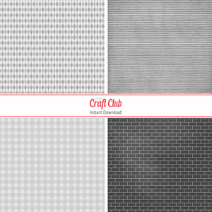 white and grey scrapbooking paper