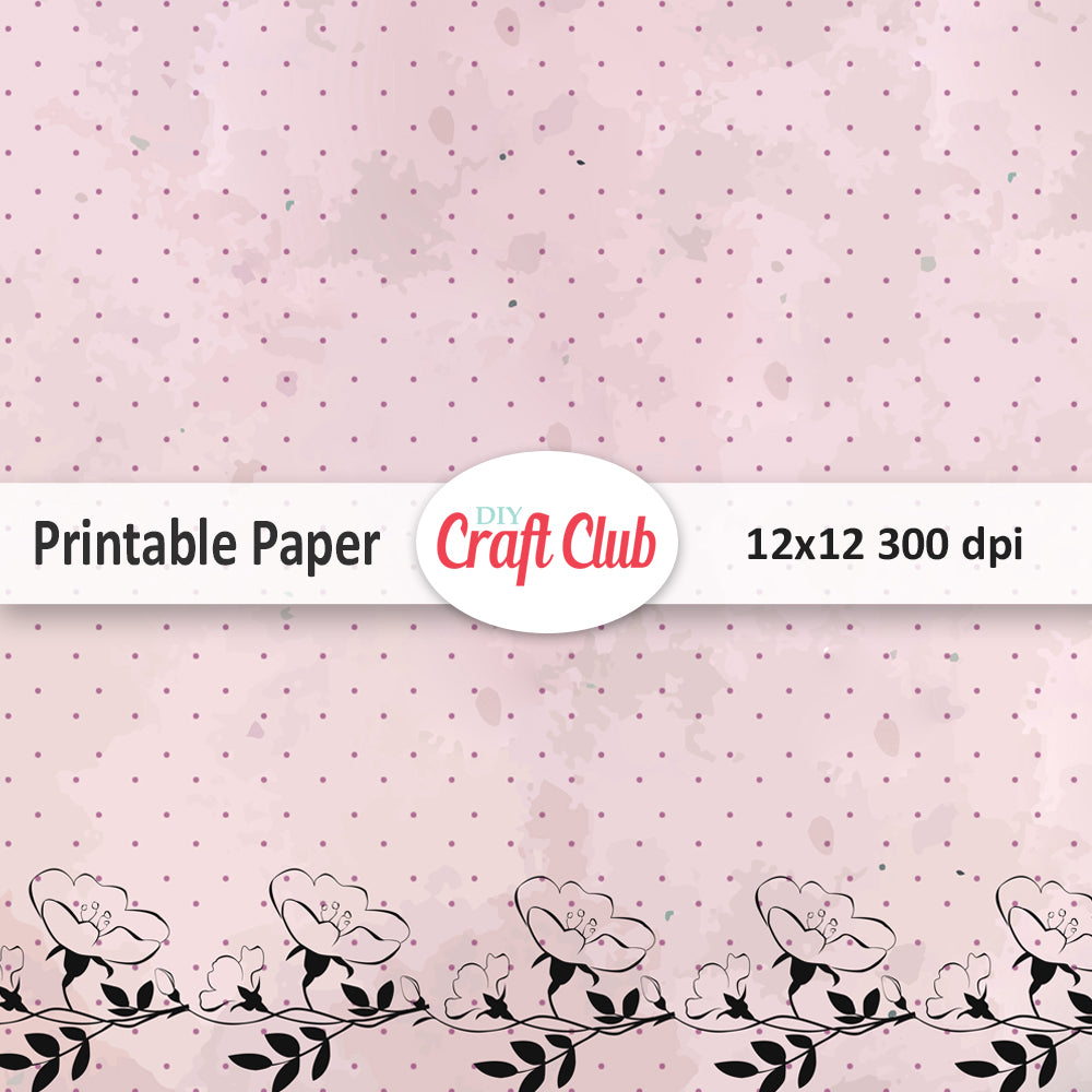 printable paper and digital downloads - diy craft club