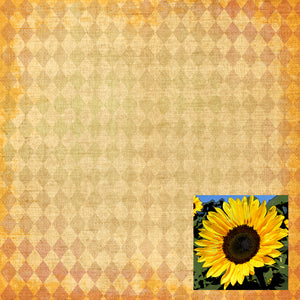 sunflower printablespaper