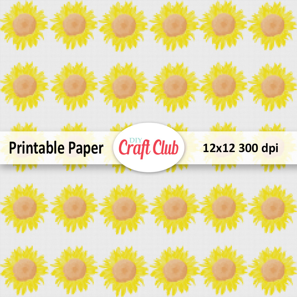 graphic relating to Sunflower Printable known as Electronic Sunflower Printable
