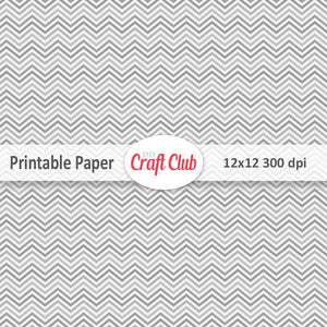 printable chevron paper