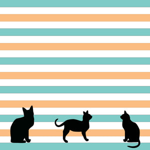 black cat printable scrapbooking papers