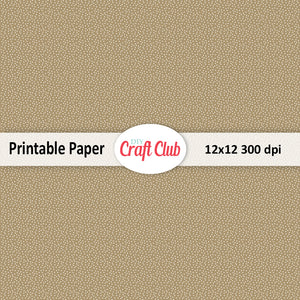 brown dotted scrapbooking paper