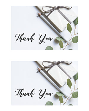 Free Customer Thank You Note Printable For Craft Business