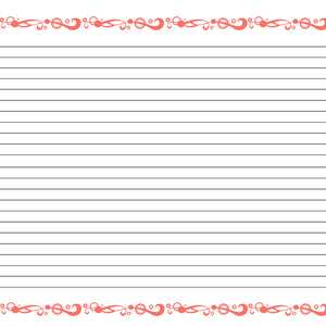 lined note paper to print free
