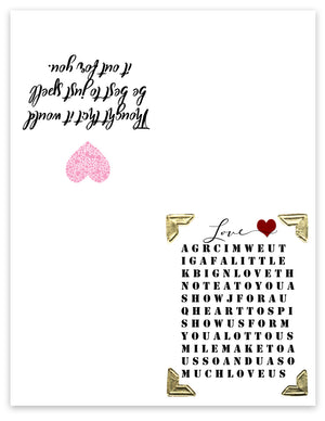 image about Printable Love Card titled No cost Printable Greeting Playing cards - Do it yourself Craft Club
