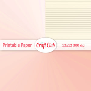 pink lined gradient paper