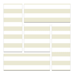 lined scrapbooking paper and stickers
