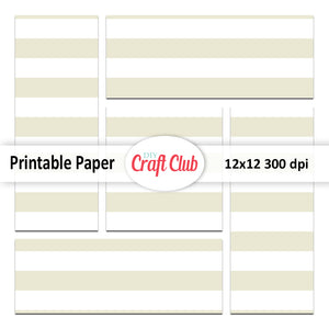 Lined green paper for scrapbooking