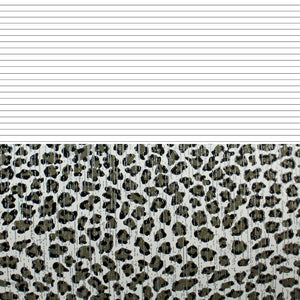 lined leopard paper to print digital download