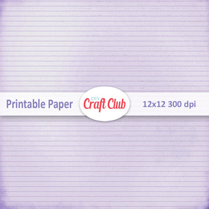 purple lined scrapbooking paper