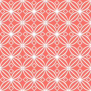 Living Coral Scrapbooking Paper