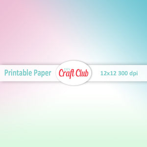 gradient pastel paper to print