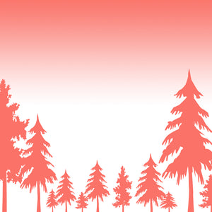 pine trees paper to print