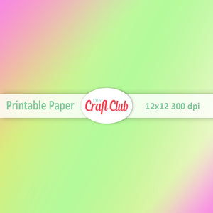pink and green gradient paper
