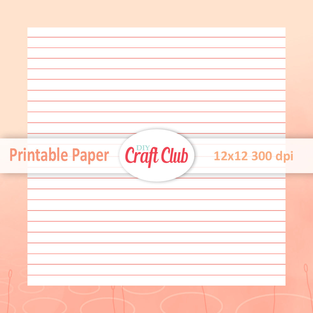 picture relating to Printable Note Papers identified as Coated Printable Paper Sbooking Papers - Do it yourself Craft Club