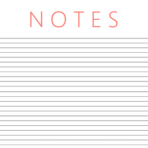 lined note paper to print