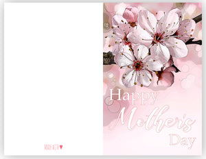 mother's day greeting card printable