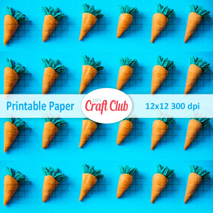 printable paper carrots