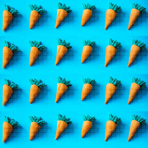 Printable scrapbooking paper food carrots