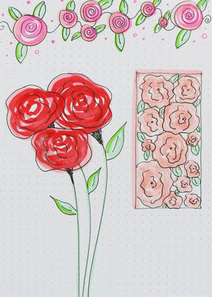 Simple Floral Doodles Episode 8