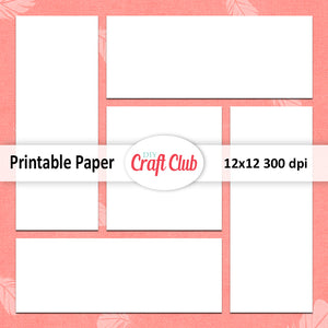 scrapbooking paper to print
