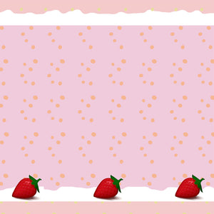 strawberry scrapbooking paper