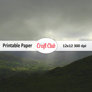 big sky printable paper Ireland