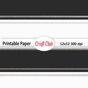 black and white patterned paper digital files