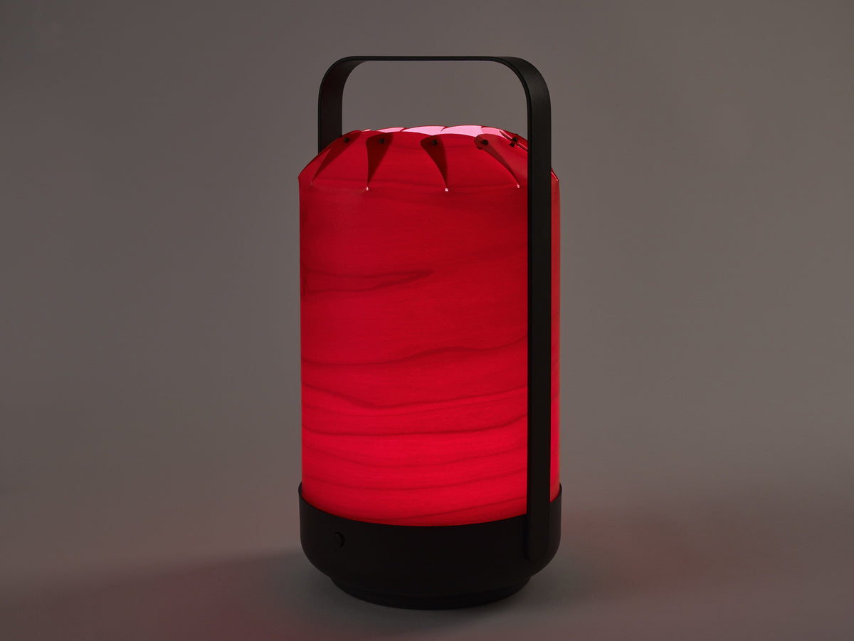 Chou Mini Table Lamp Red