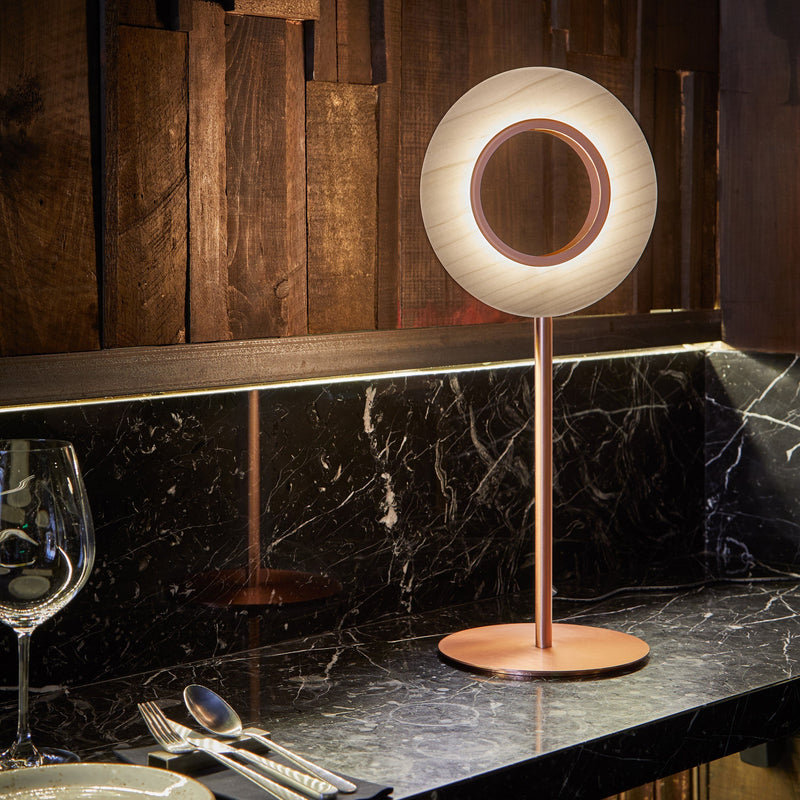 Lens Circle Table Lamp