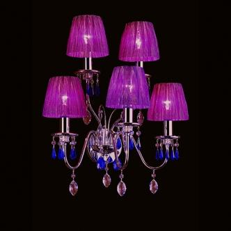 Violet Wall Light