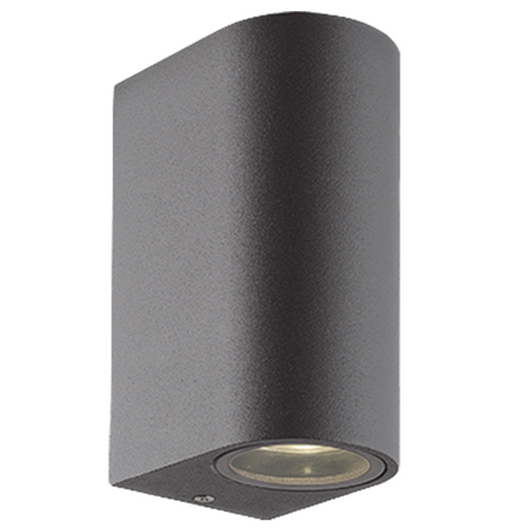 Tarihi Curve Wall Light Dark Grey