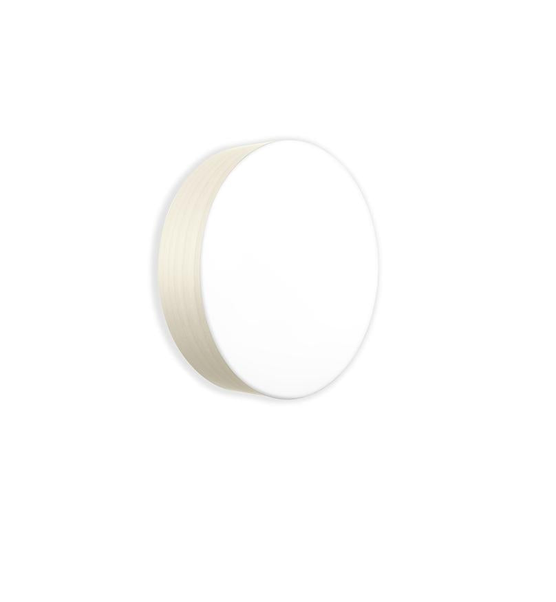 Gea Surface Light Large / Gx53 Ivory White Wall