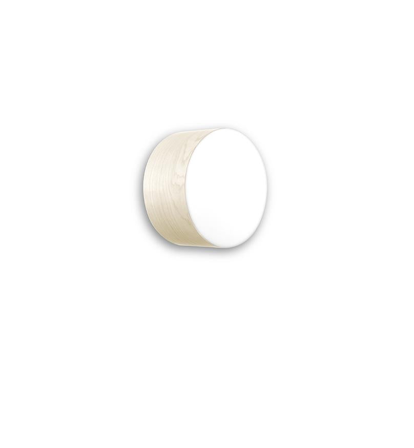 Gea Surface Light Small / Gx53 Ivory White Wall