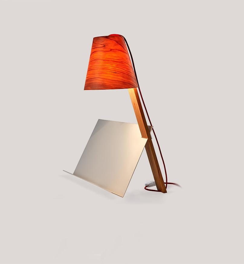 Asterisco Lamp 21 - Cherry Table