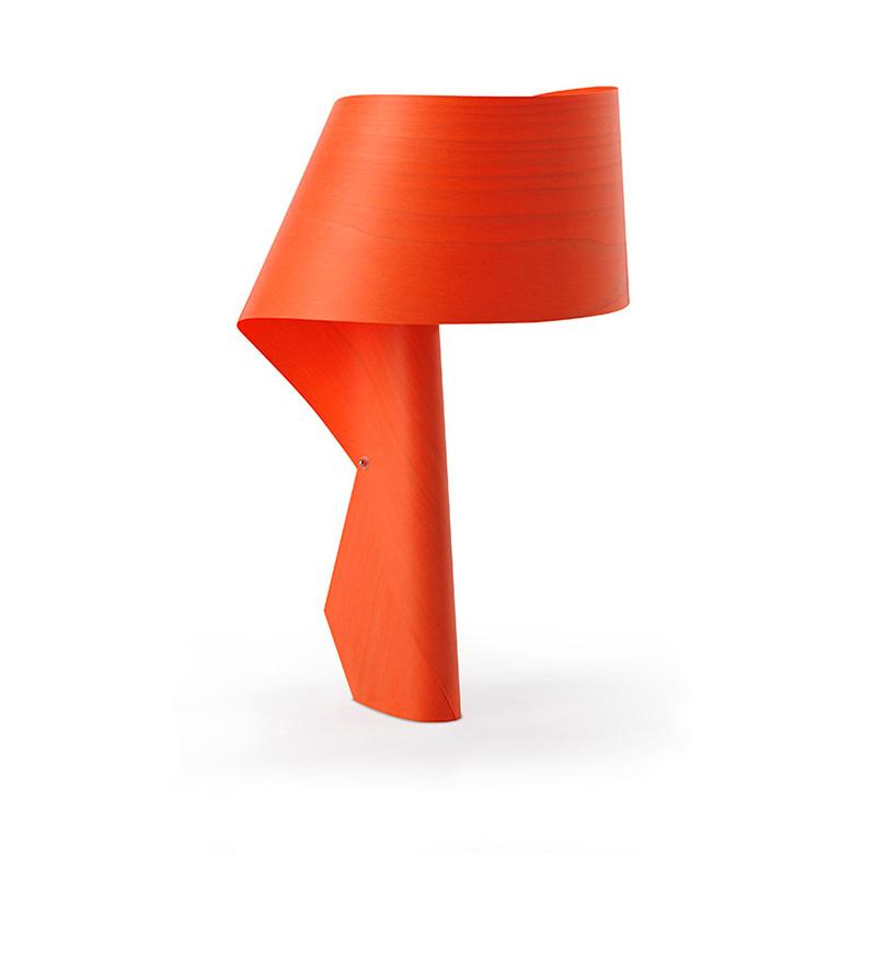 Air Table Lamp Orange