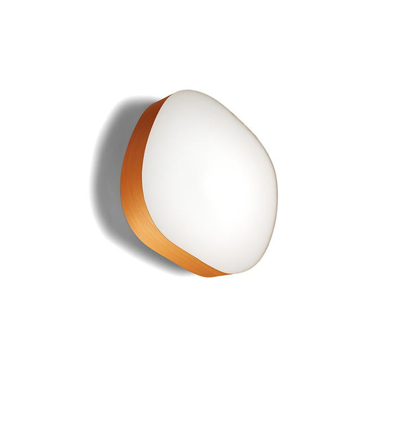 Guijarro L Surface Light Led Built In / Orange Wall