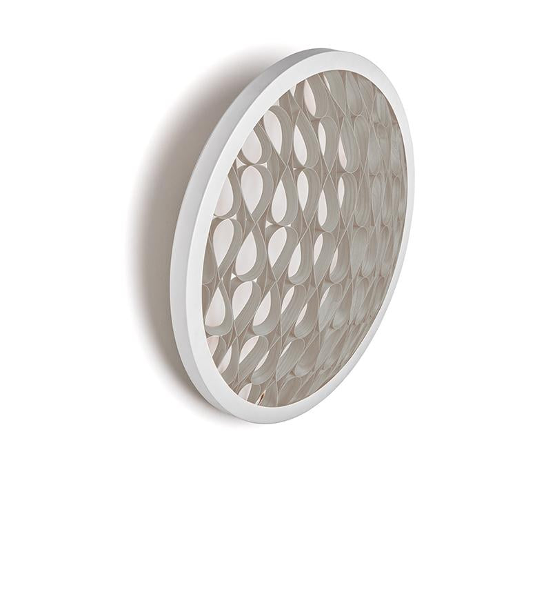 Cervantes Wall Light Led Dimmable / Matt White Grey