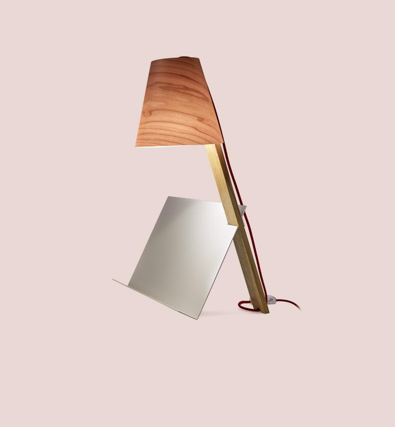 Asterisco Lamp 32 - Pink Table