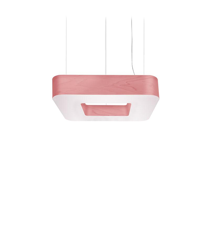 Cuad Pendant Led 0-10V Dimmable / Pink