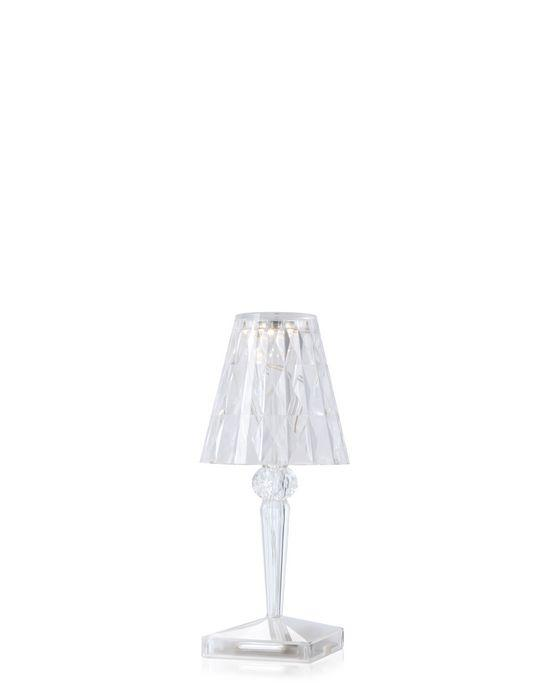 Battery Lamp Transparent / Crystal Table