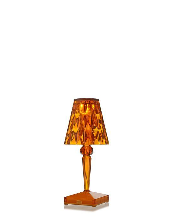 Battery Lamp Transparent / Amber Table