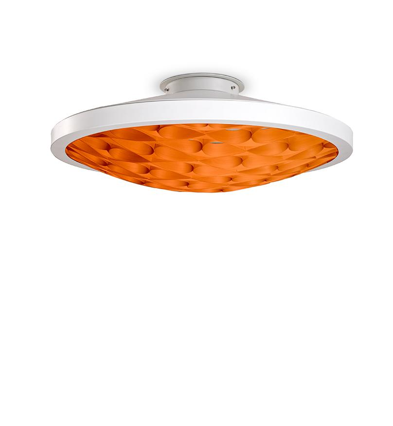 Cervantes Ceiling Light Led Dimmable / Matt White Yellow