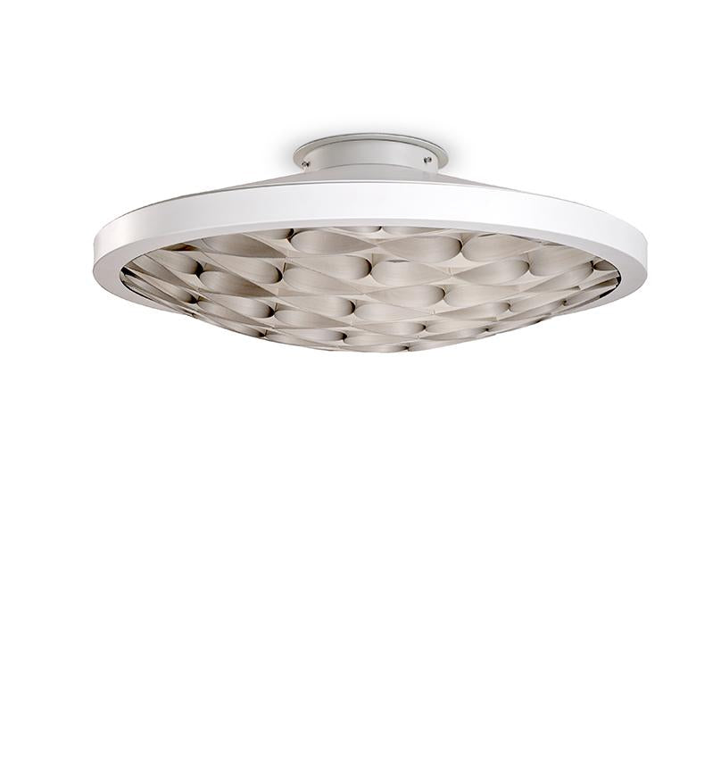 Cervantes Ceiling Light Led Dimmable / Matt White Grey