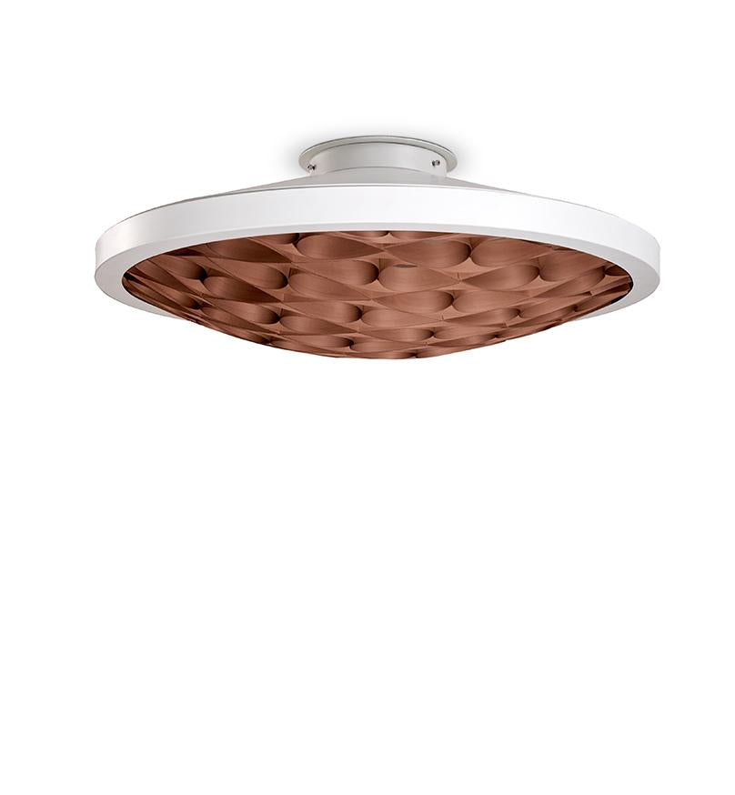 Cervantes Ceiling Light Led Dimmable / Matt White Chocolate